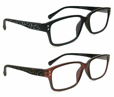 7ee50f905b3 NWT Retro Women Reading Glasses Zara Classic Style Spring Hinge Frame Reader