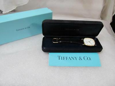 Tiffany & Co. Portfolio Goldelectroplated Stainless Steel Watch Vintage 1974