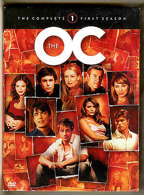 The O. C. // Dvd // 1St Season Episodes 9 - 17 // Note >> Missing Episodes 1 - 8