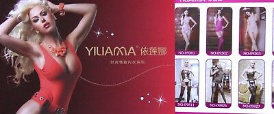 2018 Yiliama Lingerie Fashion Catalog Catalogue