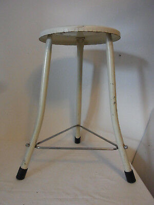 Arzt Hocker Industriedesign Hocker Art Deco 40er 50er Bauhaus  #<