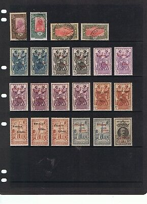 Accumulation Of Early Stamps From French Somalia.