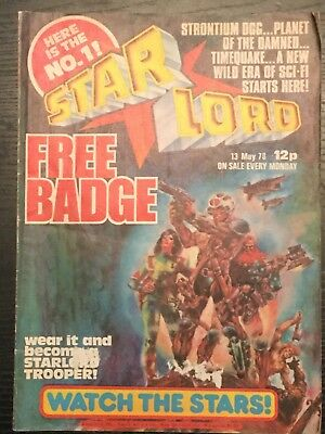 STARLORD - Issue 1 - MAY 1978 (Pre 2000AD ft JUDGE DREDD) - VERY GOOD CONDITION