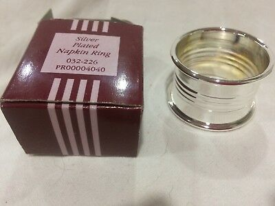 Silver Plated Napkin Ring - Readers Digest