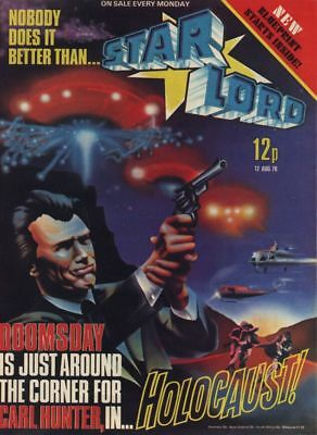 STARLORD - Issue 14 - AUG 1978 (Pre 2000AD ft JUDGE DREDD) - EXCELLENT CONDITION