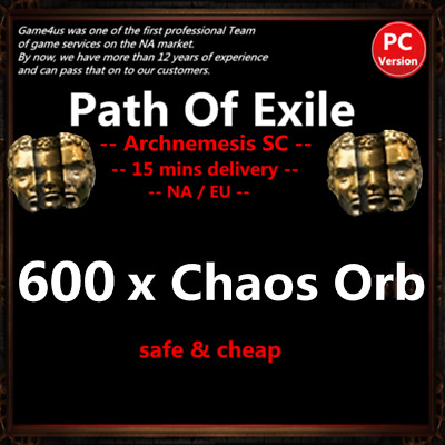 30 x Exalted Orb Path of Exile POE Currency Synthesis League Softcore SC NA & EU