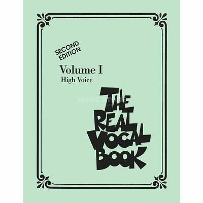 Hal Leonard - The Real Vocal Book I High Voice