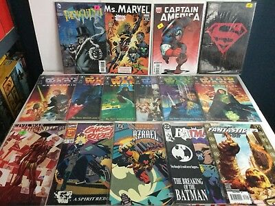 BIG LOT OF 78 Assorted Comics VARIANT COVERS,ZOMBIE,#1's,b&w Sketch All VF+to NM