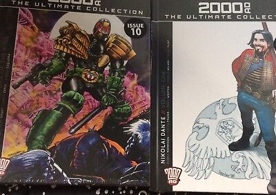 2000ad the ultimate collection number 8 & 10