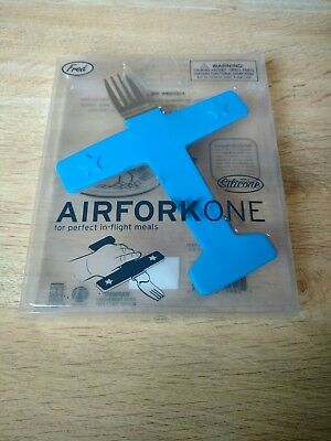 Novelty Fred Airfork One Children's Plane Fork Silicone Baby Cutlery