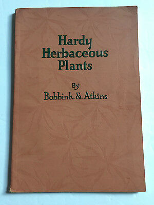 Hardy Herbaceous Plants Bobbink & Atkins Rutherford NJ Perennials Catalog 1931
