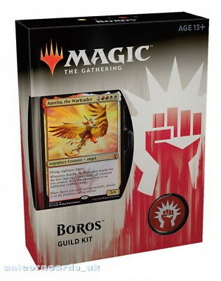 MTG - Magic: the Gathering Guilds of Ravnica Guild Kit - Boros :: Brand New & Se