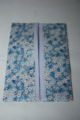 Cute pocket tissue//hankie holder ~ LIBERTY FABRIC LODDEN ~ cotton Tana Lawn