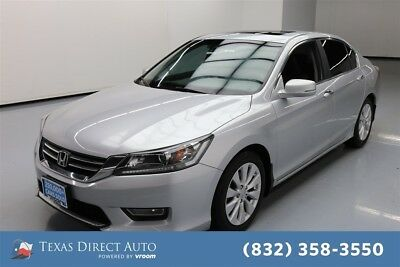 2013 Honda Accord EX-L Texas Direct Auto 2013 EX-L Used 2.4L I4 16V Automatic FWD Sedan