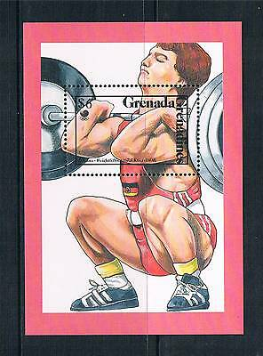 Gren.Grenada 1989 Olympic Medal Winners MS SG 1096a MNH