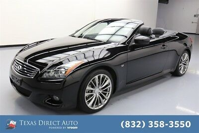 2015 Infiniti Q60 2dr Convertible Texas Direct Auto 2015 2dr Convertible Used 3.7L V6 24V Automatic RWD Premium