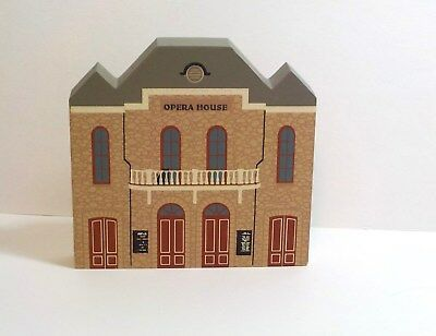 Cat's Meow Central City Opera House Series IX 1991 Signed Faline 93 Shelf Sitter