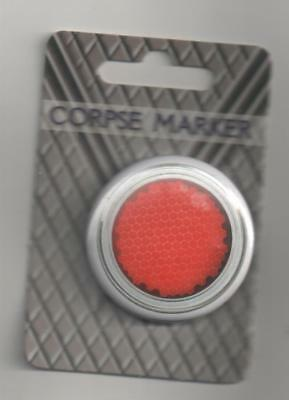 Doctor Who Robots of Death Corpse Marker Badge