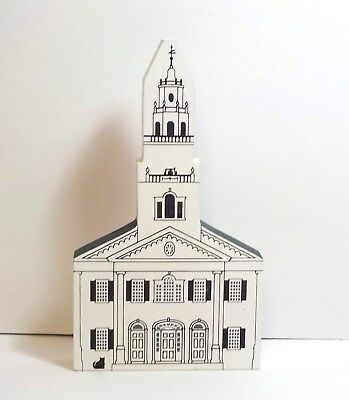 Cat's Meow  United Church Of Acworth Series X 1992 Signed Faline 94 Shelf Sitter