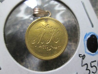 Fancy Love Token 2.5 Dollar Liberty Gold Coin In Fine Condition