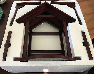 Lenox China Jewels Nativity Large Creche in Box - Excellent Condition