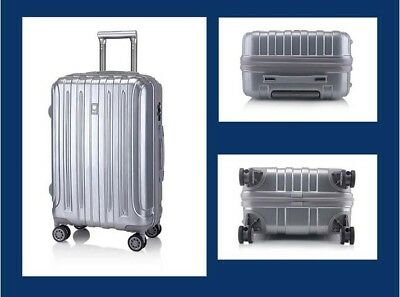 E38 Silver Lock Universal Wheel ABS+PC Travel Suitcase Luggage 28 Inches W