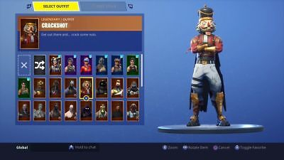 100 Stacked Fortnite Random Og Accounts | Only 1,5$ | 100 Accounts With Skins!