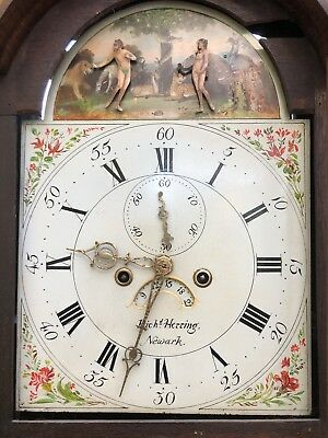 Antique Grandfather Clock Automation Adam And Eve