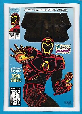 """Invincible Iron Man #290_March 1993_Vf+_""""the Return Of Tony Stark""""_48 Pages!"""