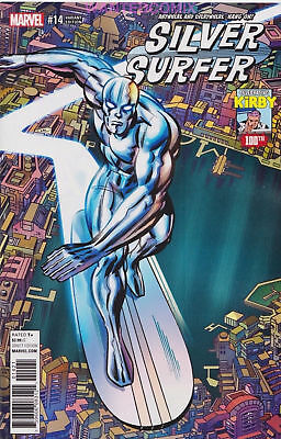 Silver Surfer #14 Kirby 100 Variant Cover 1:10 Marvel Comic Book New 1 2017