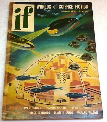 IF – Worlds of Science Fiction - US digest – Jan.1954 - Vol.2 No.6 - Harrison