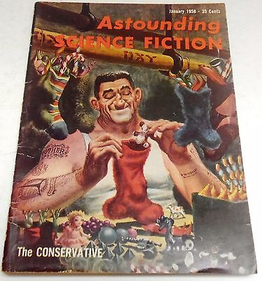 Astounding Science Fiction – US Digest – January 1958 – Vol.60 No.5 - Herbert
