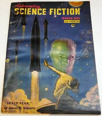 Astounding Science Fiction – US digest – Vol.47 No.1 - March 1951 - Schmitz