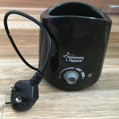 Tommee Tippee Bottle Warmer Black
