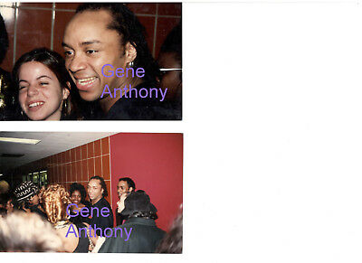 Gene Anthony Ray Fame Actor Set Of 2 Photos With Copyrights Lot Candid