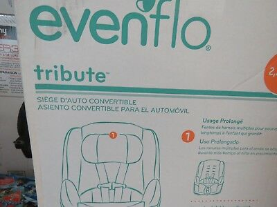 Evenflo Tribute Convertible Car Seat - Black/Red