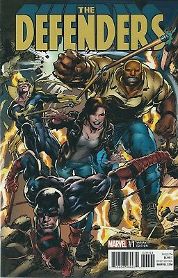 The Defenders #1 (2017) Neal Adams Variant Marvel Comics V/f+