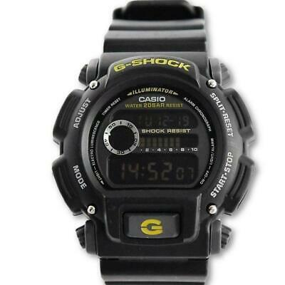 Casio G-Shock Men's Black Digital Stopwatch Alarm Watch DW-9052-1CCG
