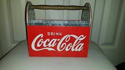 Collectible Coca-Cola Table Caddy, Utensil Carrier, Napkin/Condiment Holder