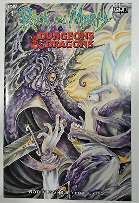 Rick and Morty vs Dungeons & Dragons #1 Variant Cover Sara Richard 1:10 D&D