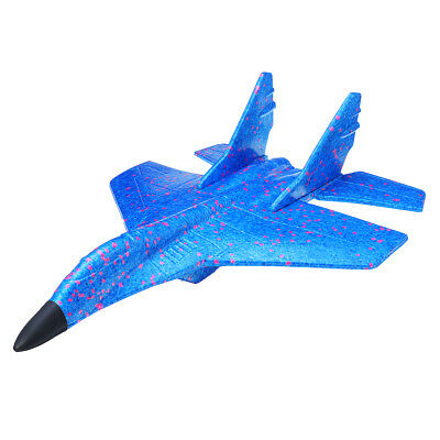 43CM EPP Foam Hand Throw Airplane Fighter Launch Glide r Plane Kids Fun Toy Gift