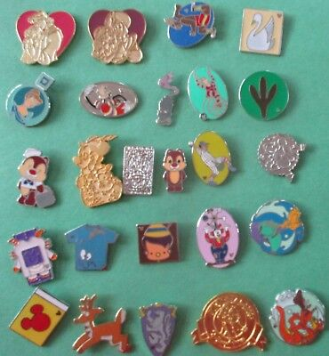 Lot of 25 Disney Pins (All Pins Shown in Picture)