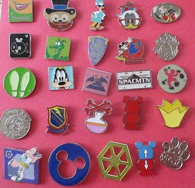 Lot of 25 Disney Pins (All Pins Shown in Picture) #2