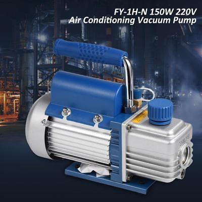 220V 150W Vacuum Pump Kit for Air Conditioning/Refrigerator w/ Pressure Gauge al