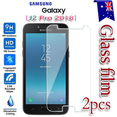 2X Tempered Glass Screen Protector For Samsung Galaxy J2 Pro/A8/J8 2018/J5/J7/S7