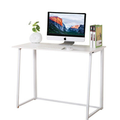 Foldable Computer Desk Folding Laptop PC Table Home Office Study Simple Design