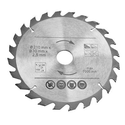 3PC Circular Saw Blades 210mm Diameter for 16mm 20mm 25mm BORE Reduction TCT