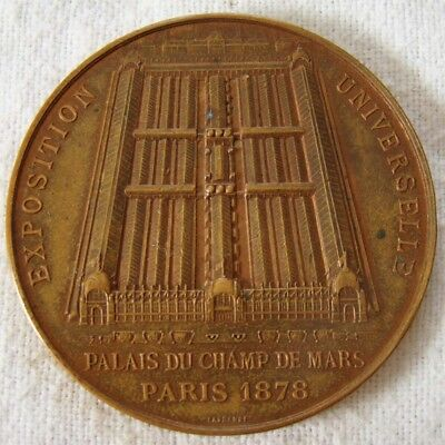 Paris 1878 - Exposition Universelle - Medaille bronze - 85