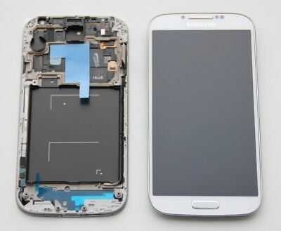 Original Samsung i9505 Galaxy S4 Weiss White Blanc LCD Display Glas Touch Screen