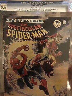 Spectacular Comic-The Spectacular Spider-Man (1968) #2-CGC 9.6